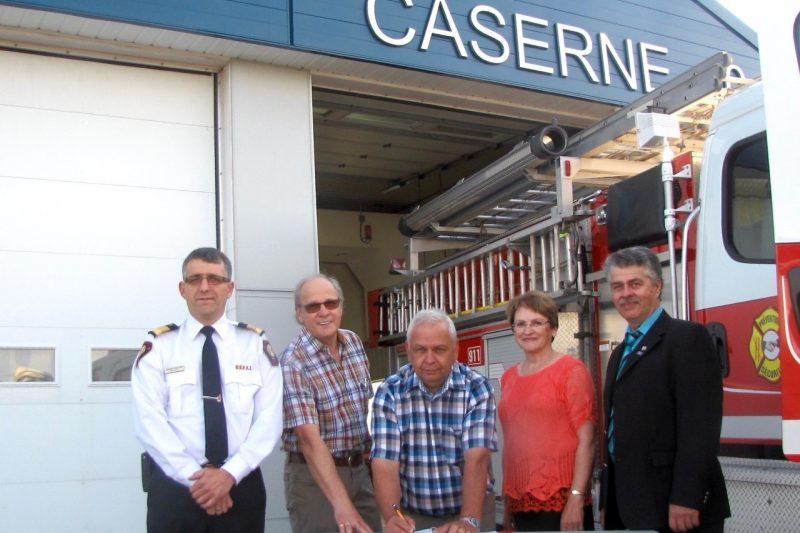 Courcelles se joint au service d'incendie de la Haute-Beauce