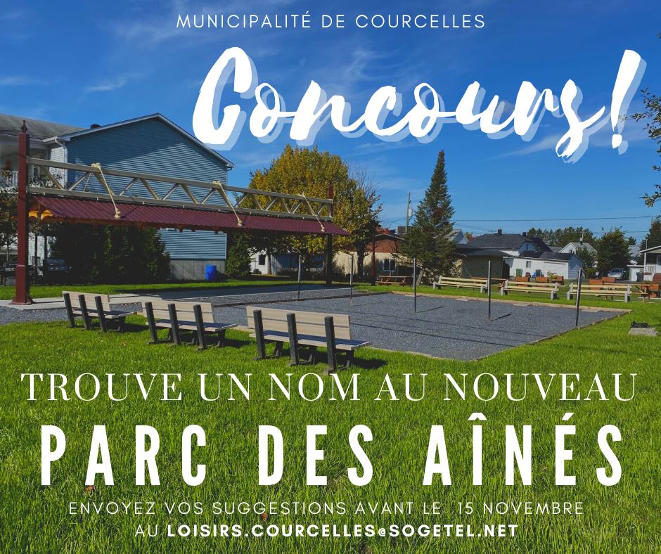 CONCOURS | NOUVEAU PARC DES AÎNÉS